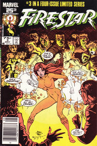 Cover Thumbnail for Firestar (Marvel, 1986 series) #3 [Newsstand Edition]