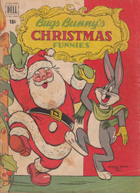 Cover for Bugs Bunny&#39;s Christmas Funnies (1950 series) #1
