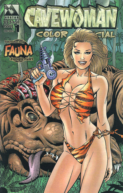Cover for Cavewoman Color Special (Avatar Press, 1999 series) #1