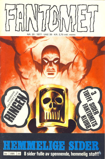 Cover for Fantomet (1976 series) #20/1977