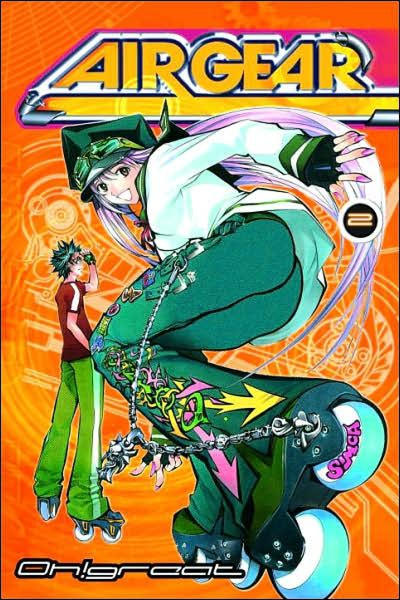 Cover for Air Gear (Random House, 2006 series) #2