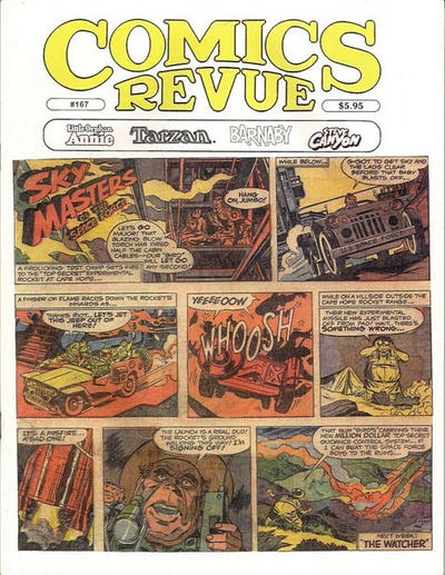 Cover for Comics Revue (Manuscript Press, 1985 series) #167