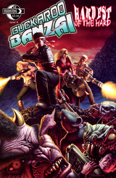 Cover for Buckaroo Banzai Hardest of the Hard (Moonstone, 2010 series) #2