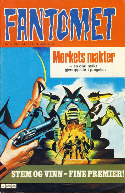 Cover for Fantomet (1976 series) #5/1978