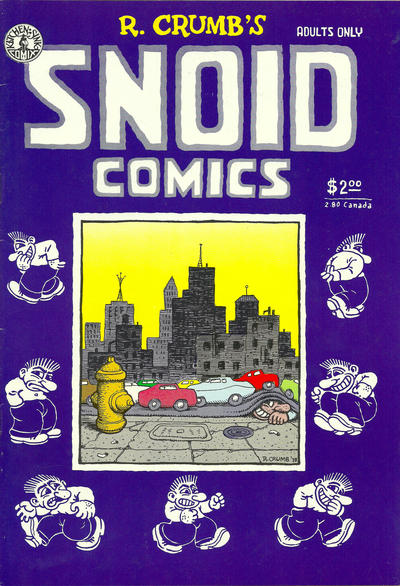 Cover for Snoid Comics (1980 series) #[nn] [1st print 1.25 USD]