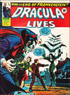 Cover for Dracula Lives (Marvel UK, 1974 series) #8