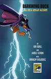 Cover for Darkwing Duck (Boom! Studios, 2010 series) #1 [San Diego Comic Con Exclusive Cover]