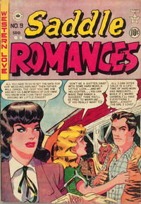 Cover Thumbnail for Saddle Romances (Superior Publishers Limited, 1950 series) #9
