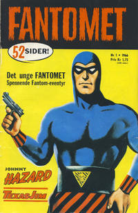 Cover Thumbnail for Fantomet (Romanforlaget, 1966 series) #1/1966