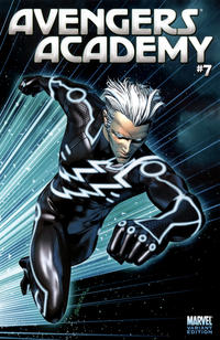 Cover Thumbnail for Avengers Academy (Marvel, 2010 series) #7 [Tron Variant]