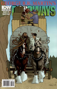 Cover for Doorways (2010 series) #3 [Cover A]