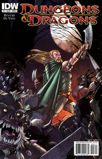 Cover Thumbnail for Dungeons & Dragons (IDW, 2010 series) #3 [Cover B]
