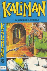 Cover Thumbnail for Kaliman (Editora Cinco, 1976 series) #18