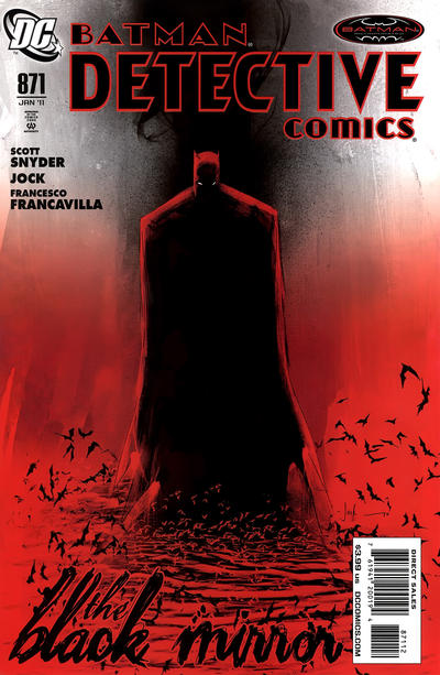 Cover for Detective Comics (1937 series) #871 [Second Printing]