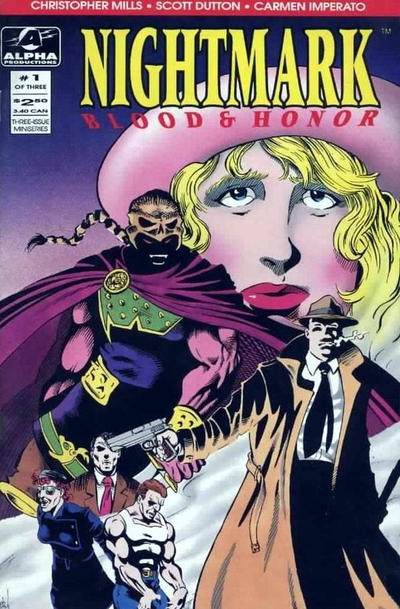 Cover for Nightmark: Blood & Honor (1994 series) #1