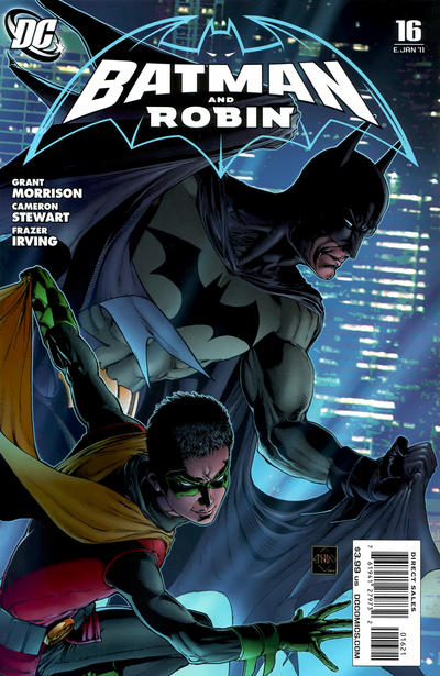 Cover for Batman and Robin (DC, 2009 series) #16