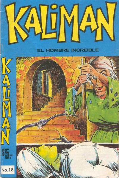 Cover for Kaliman (Editora Cinco, 1976 series) #18