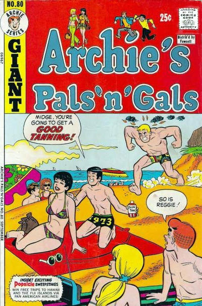 Cover for Archie's Pals 'n' Gals (Archie, 1952 series) #80