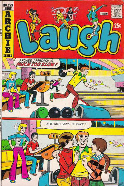 Cover for Laugh Comics (1946 series) #279
