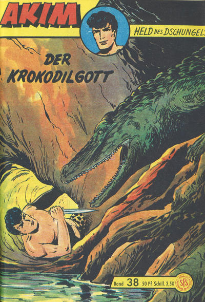 Cover for Akim Held des Dschungels (Lehning, 1958 series) #38