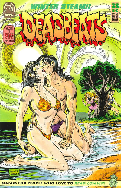 Cover for Deadbeats (1993 series) #33
