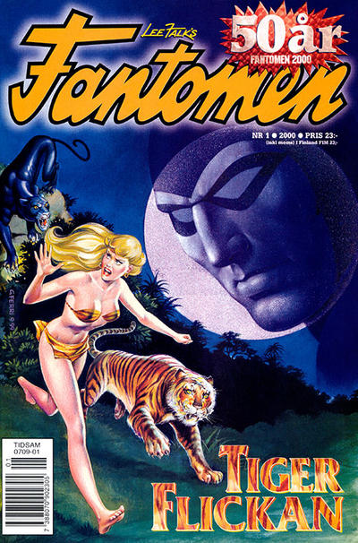 Cover for Fantomen (Egmont, 1997 series) #1/2000