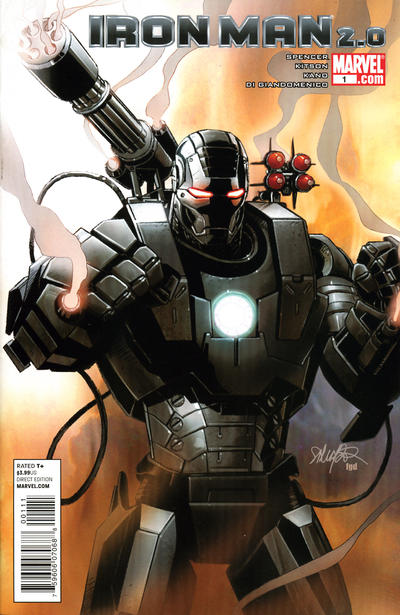 Cover for Iron Man 2.0 (Marvel, 2011 series) #1 [Variant Edition - Dheeraj Verma]
