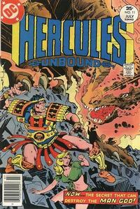 Cover Thumbnail for Hercules Unbound (DC, 1975 series) #11