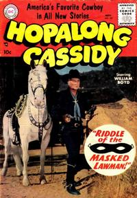 Cover Thumbnail for Hopalong Cassidy (DC, 1954 series) #107