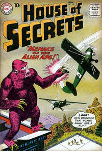 Cover Thumbnail for House of Secrets (DC, 1956 series) #26