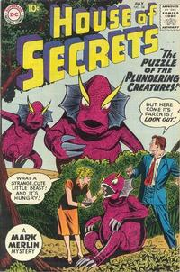 Cover Thumbnail for House of Secrets (DC, 1956 series) #34