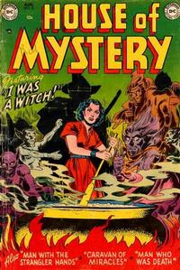 Cover Thumbnail for House of Mystery (DC, 1951 series) #5