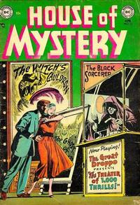 Cover Thumbnail for House of Mystery (DC, 1951 series) #13