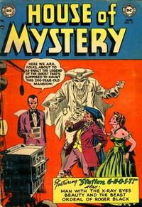Cover for House of Mystery (1951 series) #17