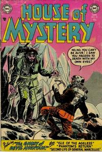 Cover Thumbnail for House of Mystery (DC, 1951 series) #22