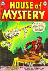 Cover Thumbnail for House of Mystery (DC, 1951 series) #25