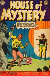 Cover Thumbnail for House of Mystery (DC, 1951 series) #26