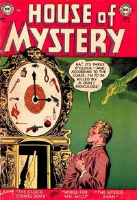 Cover Thumbnail for House of Mystery (DC, 1951 series) #28