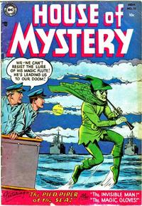 Cover Thumbnail for House of Mystery (DC, 1951 series) #32