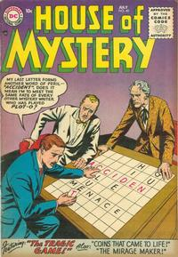 Cover Thumbnail for House of Mystery (DC, 1951 series) #40