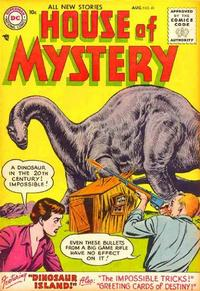 Cover for House of Mystery (1951 series) #41