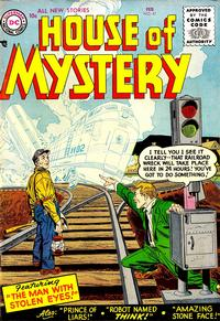 Cover Thumbnail for House of Mystery (DC, 1951 series) #47