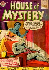 Cover for House of Mystery (1951 series) #48