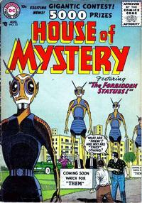 Cover for House of Mystery (DC, 1951 series) #53