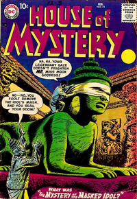 Cover for House of Mystery (1951 series) #71