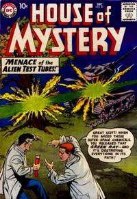 Cover Thumbnail for House of Mystery (DC, 1951 series) #81