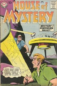 Cover Thumbnail for House of Mystery (DC, 1951 series) #82
