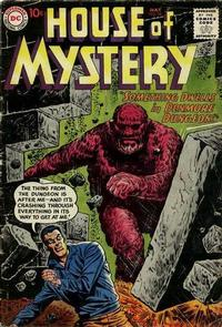 Cover Thumbnail for House of Mystery (DC, 1951 series) #98
