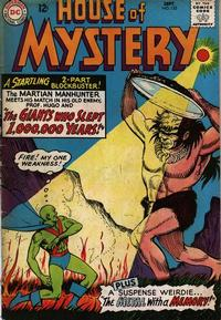 Cover Thumbnail for House of Mystery (DC, 1951 series) #153