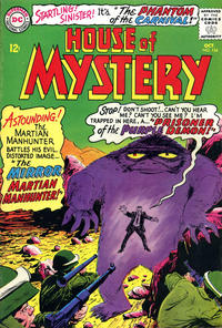 Cover for House of Mystery (1951 series) #154